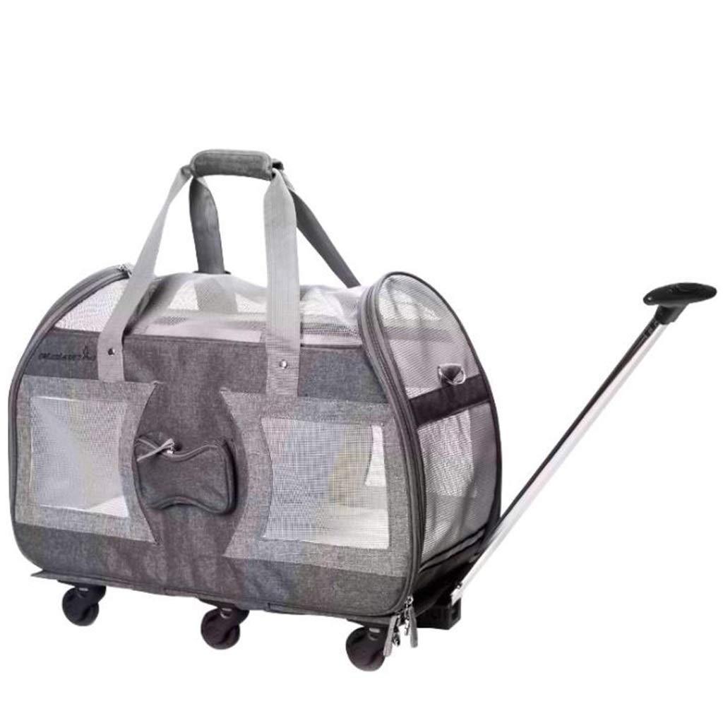 トロリーペットバッグ折りたたみ携帯用手押しトロリーペットバッグ Gray