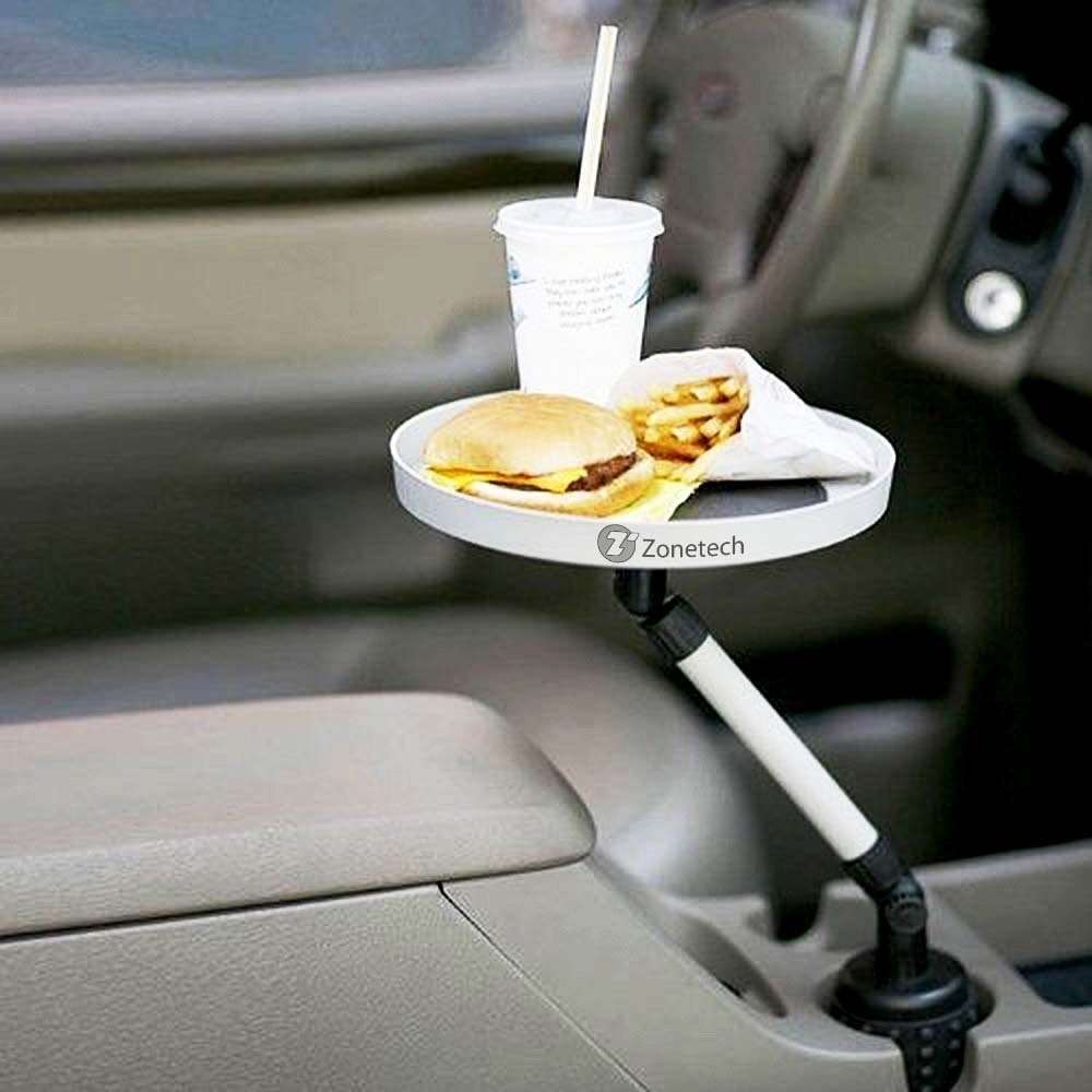 Zone Tech Car Swivel Mount Holder Travel Drink Cup Coffee