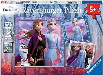 Ravensburger Puzzle 100 Teile Disney Frozen 2 Magie des WaldesKinderpuzzle