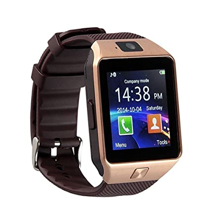 ae3a5d2bd Jiyanshi Bluetooth Smartwatch with Sim & Tf Card Support. Apps Like  Facebook and more Touch Screen Multilanguage Android/Ios Mobile Phone Wrist  Watch: ...