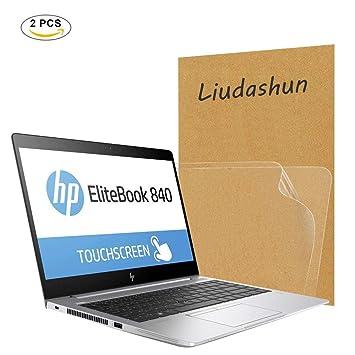"Liudashun Protector de Pantalla HD Transparent para 14"" HP EliteBook 840 G5 Ordenador Portátil ["