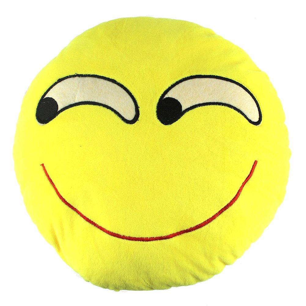 Amazon.com: 32 cm Con Forma De Emoticono Cute Cojín redondo ...