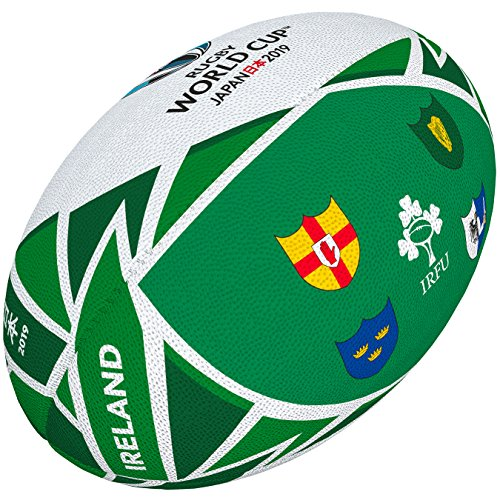 Gilbert Rugby World Cup 2019 Flag Ball - Ireland (All The Flags Of The World Cup)