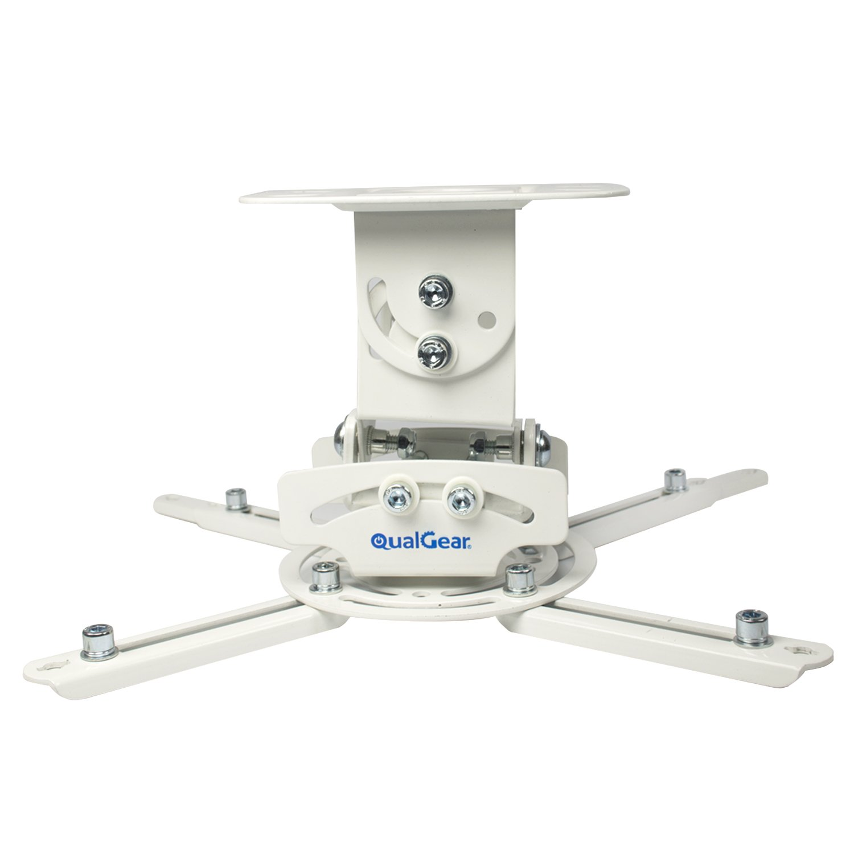 QualGear PRB-717-WHT Universal Ceiling Mount Projector Accessory by QualGear