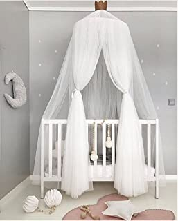 Hoomall Mosquito Net Bed Canopy Round Lace Dome Princess Play Tent Bedding for Baby Kids Childrenu0027s & Amazon.com: Baby Mosquito Net Baby Toddler Bed Crib Canopy Netting ...
