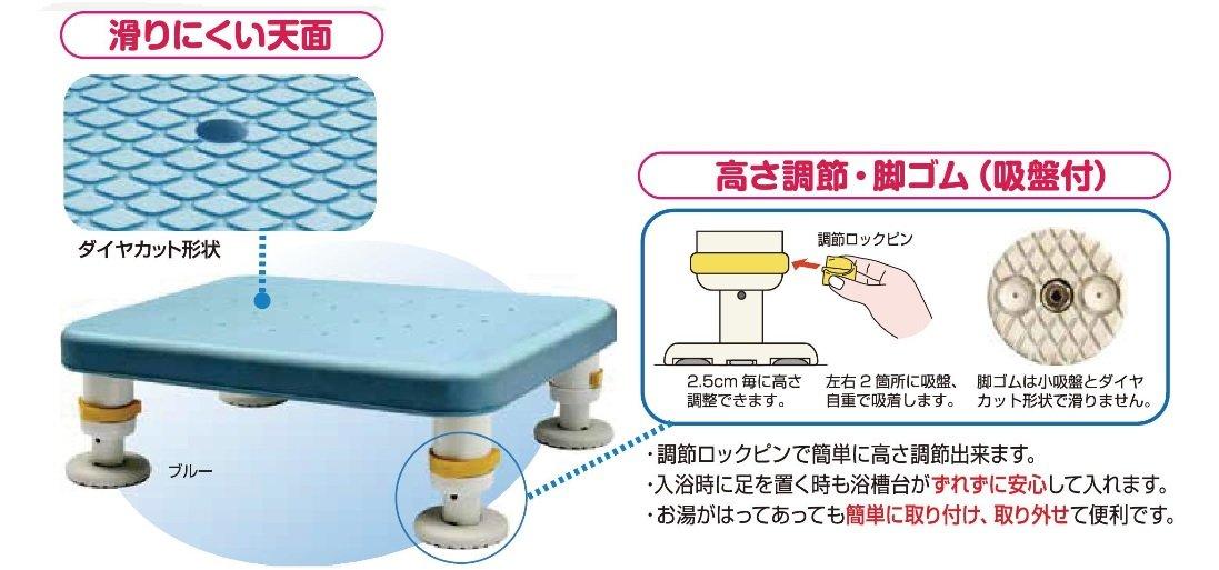 激安な シンエイテクノ ダイヤタッチ浴槽台 SYC10-15 コンパクトサイズ 43023 ブルー 43023 SYC10-15 B075QGGN34, 新品即決:f92927b0 --- edencampchopta.com