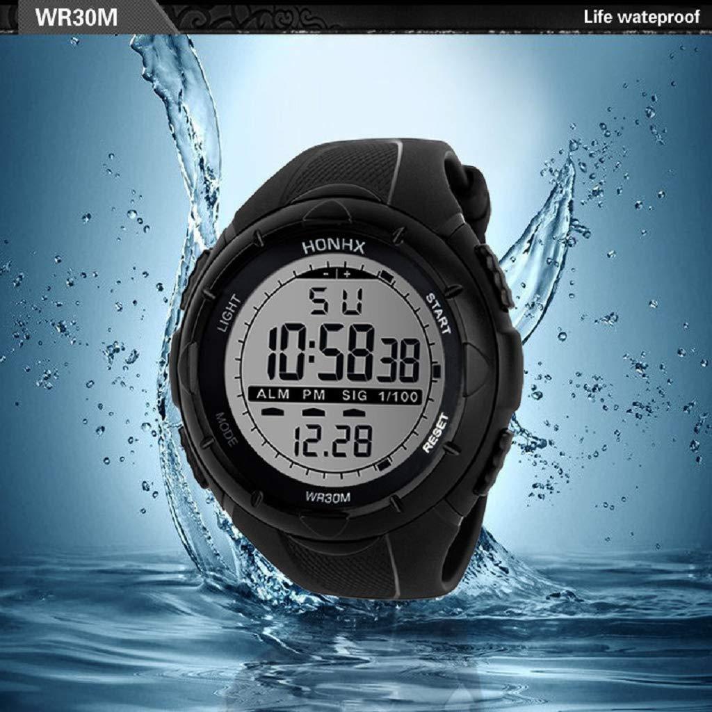 Luckycat Reloj Digital para Hombre para Actividades al Aire ...