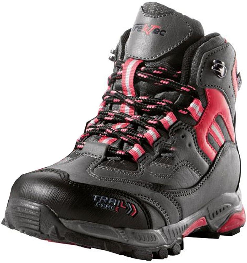 Crivit Outdoor - Botas de Senderismo de Lona para niña Rosa Himbeere: Amazon.es: Zapatos y complementos