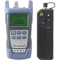 Baoblaze AUA-9 Fiber Optic Cable Tester Optical Power Meter with Sc & Fc Connector Fiber Tester + 1mW Visual Fault Locator Equipment for CATV Test,CCTV Test