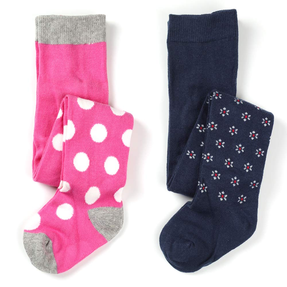 Little Baby Girls Fashion Cotton Knit Legging Tight 2 pack
