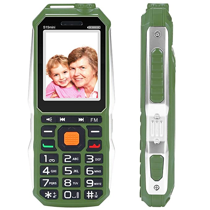 Amazoncom Easy To Use Cell Phones For Seniors Elderly Phones For