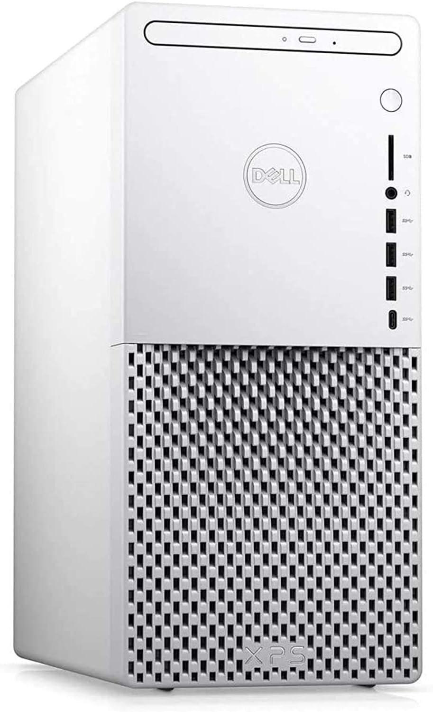 2021 Newest Dell XPS SE Tower Desktop Computer, 10th Gen Intel 6-Core i5-10400 Processor, NVIDIA GeForce GTX 1660 Ti 6GB GDDR6, 16GB RAM, 1TB SSD, DVD-RW, Windows 10 Home, White
