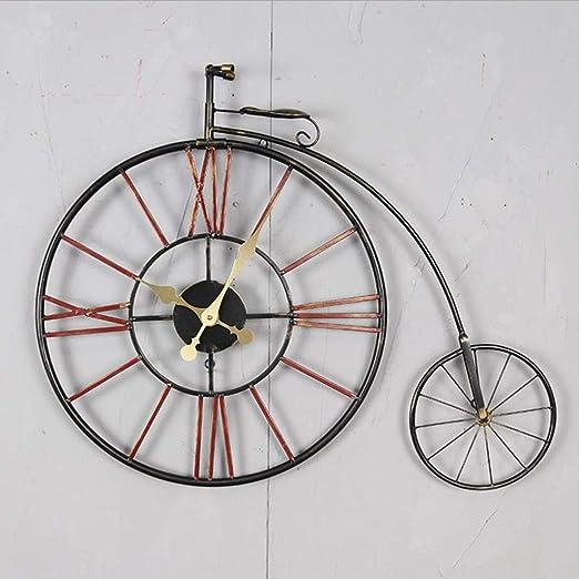 Reloj de Pared cocina, Reloj de decoración de bicicleta vintage ...
