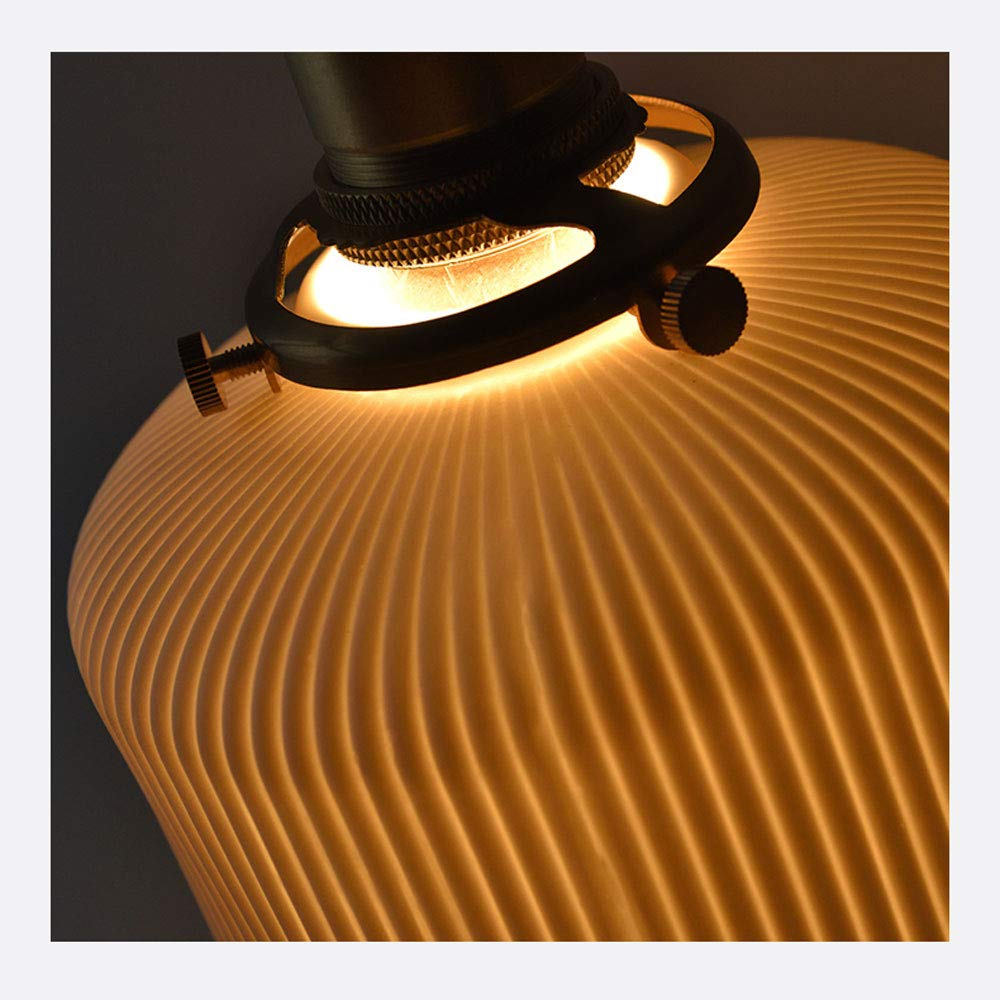 Amazon.com: Lámpara de techo Nordic ajustable de cerámica ...