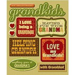 K&company Grandkids Sticker Medley