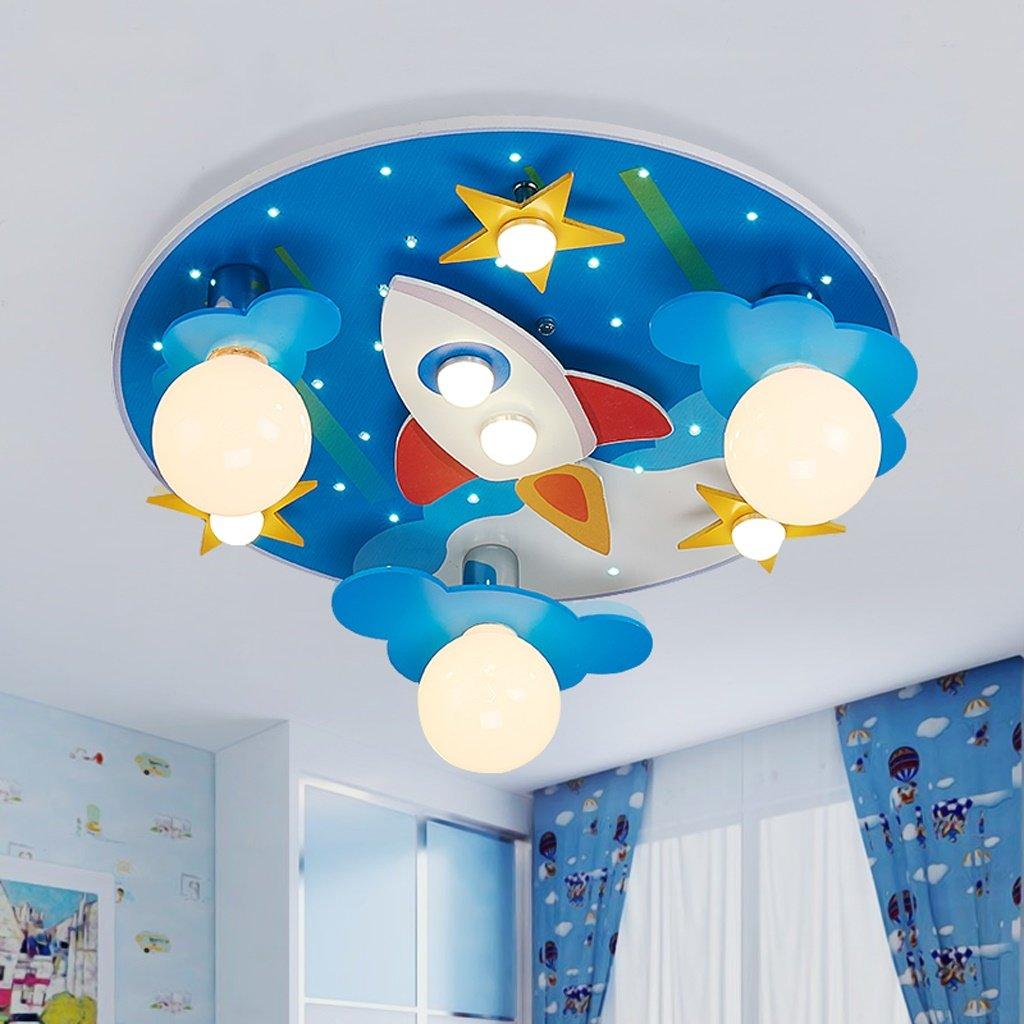 Unbekannt GJ- Kinderzimmer Junge Schlafzimmer Cartoon Flugzeug kreative einfache Moderne Zimmer Deckenleuchte
