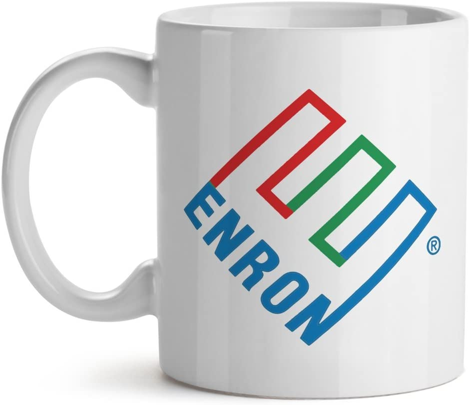 Enron Corporation Funny Parody Cool Office Gift Coffee Tea Cup Mug 15OZ