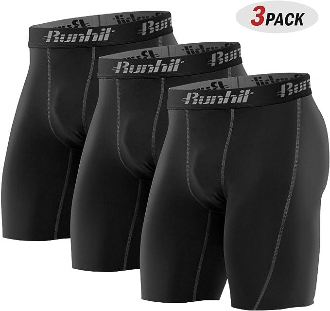 Amazon.com: Runhit - Pantalones cortos de compresión para ...