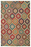 Mohawk Home Woodbridge Larache Geometric Ogees Printed Area Rug, 7'6x10', Multicolor