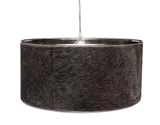 Diseño Vaca - Lámpara de techo colgante marrón blanco negro ...
