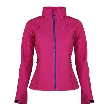 Softshell Jacke Modell Mona | Warme Damen Outdoor Jacke im skandinavischen Stil | Tailliert & Figurbetont | Winddicht & Wasserdicht | Frühlingsjacke &