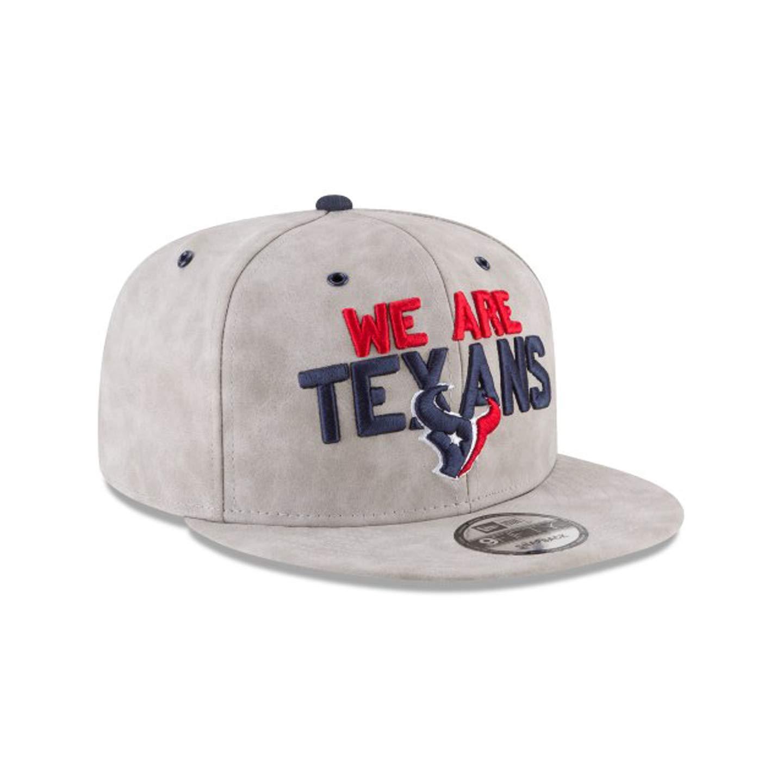 Amazon.com  Houston Texans Leather Premium 2018 NFL Draft Spotlight 9FIFTY  Snapback Adjustable Hat  Clothing 38e511b9b