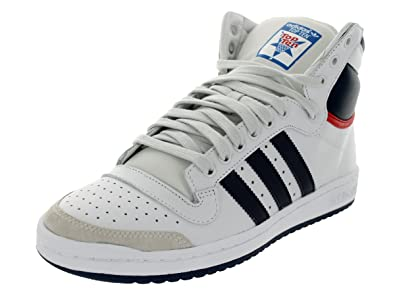 best sneakers 242a3 35f5e adidas Top Ten Hi Men Sneakers Navy White Red D65161 (SIZE  13