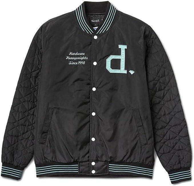 Diamond Supply Co Un Polo Varsity Jacket Black: Amazon.es: Ropa y ...