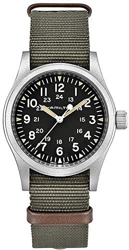 Reloj Hamilton Khaki Field Mechanical Reserva de Carga 80 h: Amazon.es: Relojes