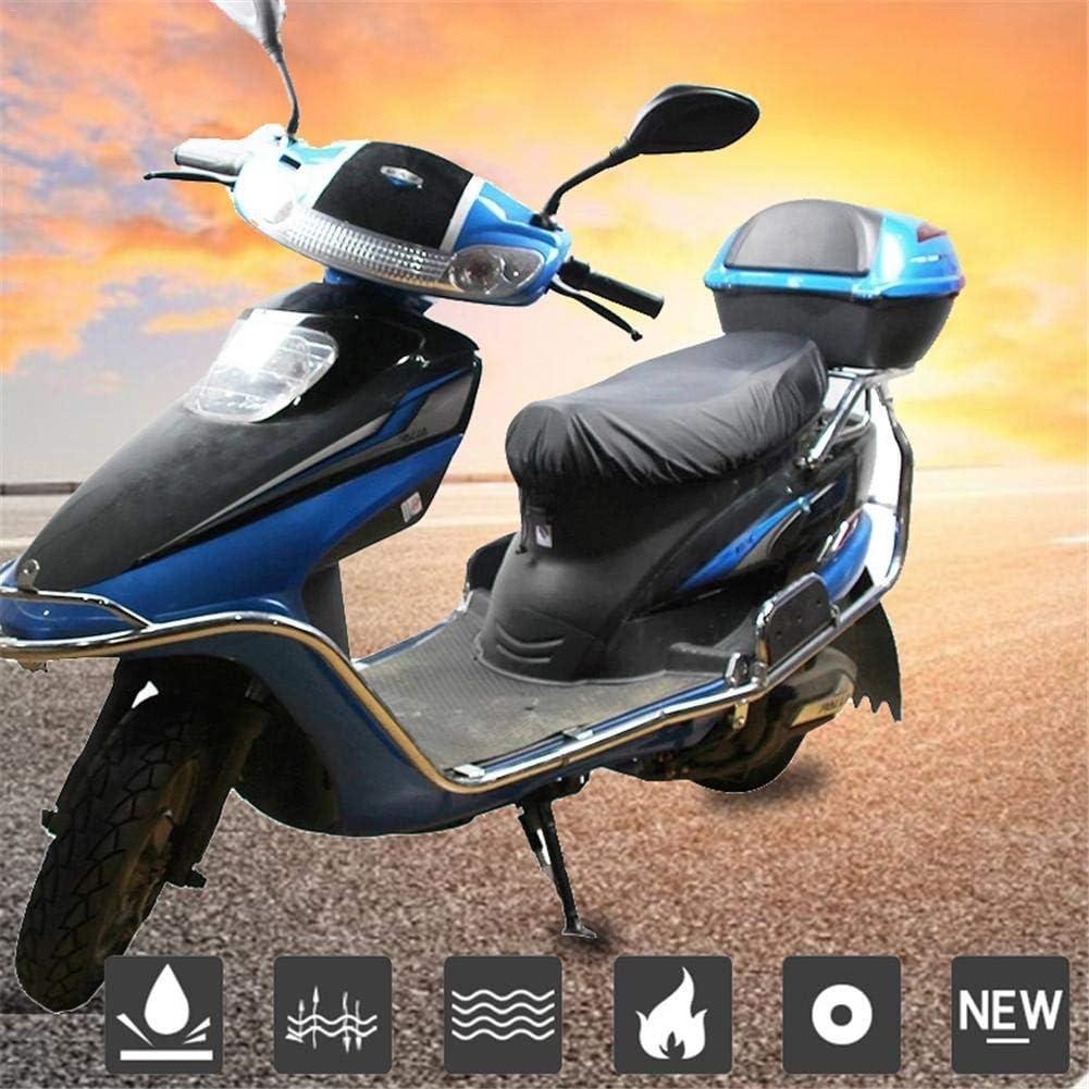 Sunnyushine Motorrad Sitzbez/üge Sitzbankbezug Sitzbankabdeckung f/ür Motorrad Roller Moped Sitzbezug 210D Oxford Tuch Motorradbezug Leichte Sitzbezug Wasserdicht Regen Staub UV Leder