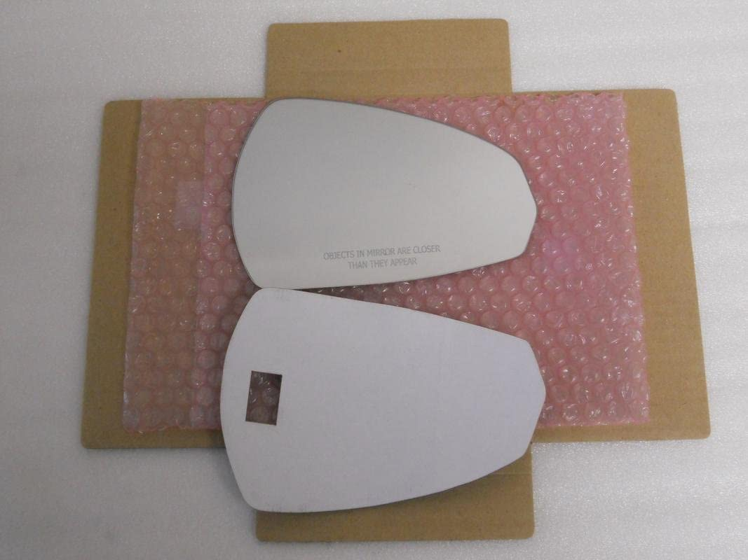 New Replacement Mirror Glass with FULL SIZE ADHESIVE for Audi A3 Passenger Side View Passenger RH