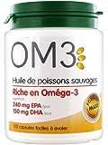 Super diet - Om3 huile de poisson - 120 capsules - L'apport maximum en oméga 3