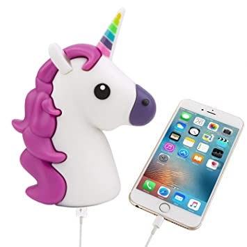 UBMSA Unicorn charger 2600mAh  12 Months Warranty  EMOJI unicorn power bank 7478ff45c