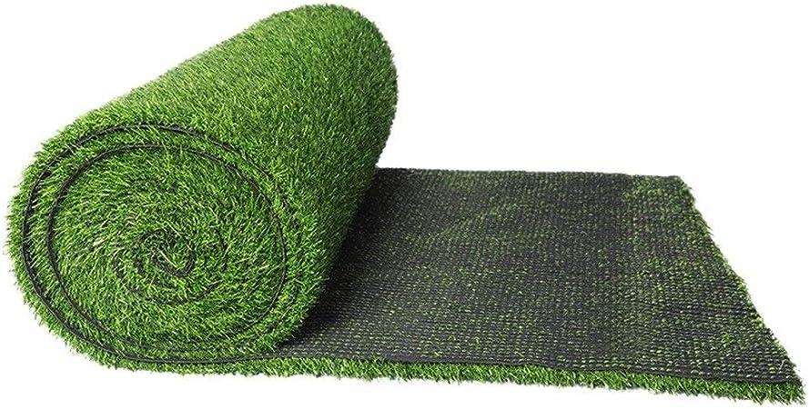 Belle Gazon Artificiel, Tapis Synthétique Doux d'herbe for La Taille 3cm MS-92