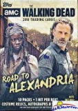 #3: 2018 Topps AMC The Walking Dead: Road to Alexandria EXCLUSIVE HUGE Factory Sealed Retail Box with Autograph, Relic,Patch or Sketch Card! Featuring Characters covering all seven seasons of the hit show
