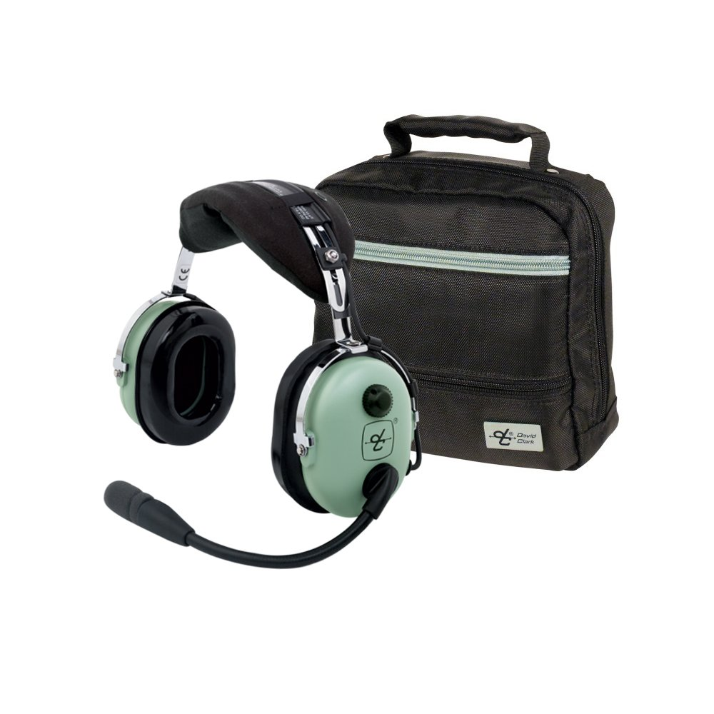 Amazon.com: David Clark H10-13.4 Headset w/David Clark Headset Bag: GPS &  Navigation