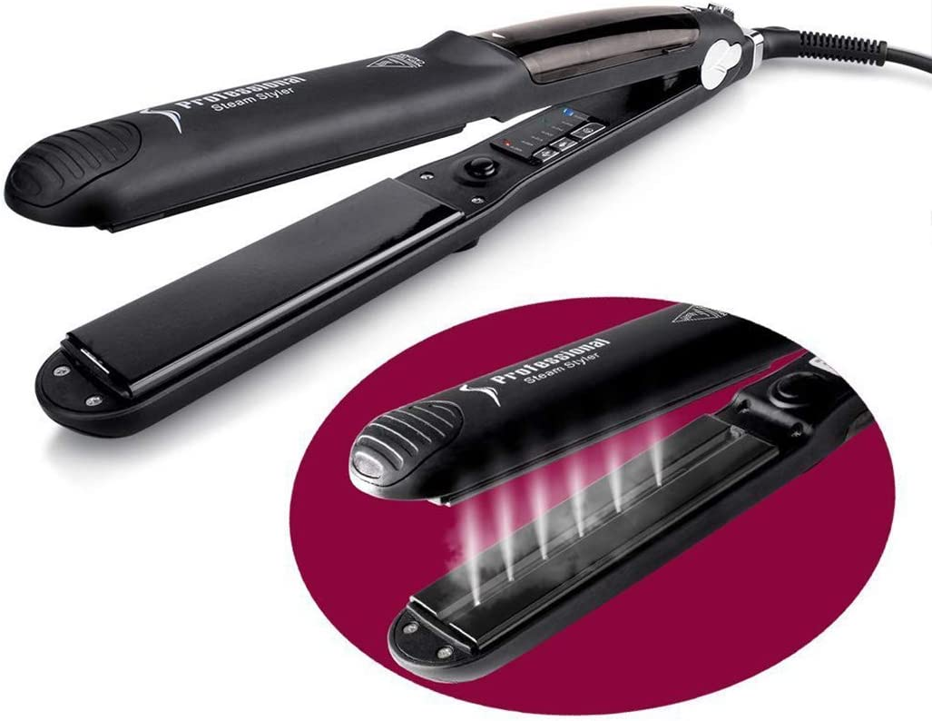 Steam Hair Straightener, Professional Steam Hair