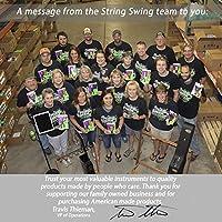 Cuerda Swing CC01KOAK Hardwood Home & Studio Guitar Hanger