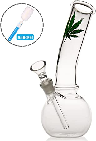 Dab Rig Plastic Bong with 14.5mm Bong Pipe Glass Pipes for Smoking bongs P-Sungar Glass Bong with Tornado Filter