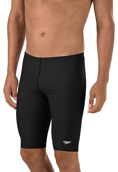 00d7a50e51 Amazon.com : Speedo Boys' Jammer Swimsuit - PowerFlex Eco Solid ...