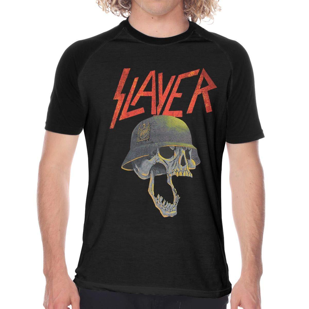 S Raglan Baseball Tshirt Slayer Band