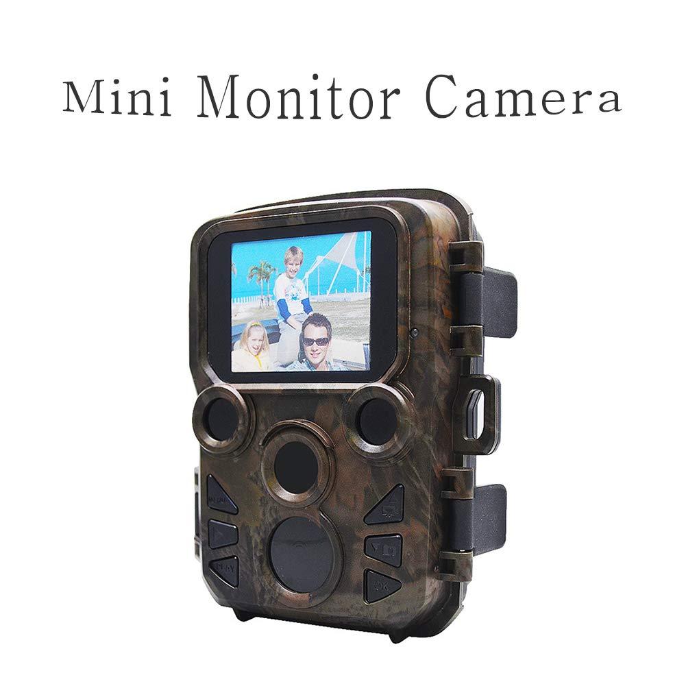 2インチミニ液晶画面 スポーツカメラ 5メガピクセル アウトドア狩猟 防水と防振 アクション カメラ 20M赤外線 ナイトビジョン スポーツ モニター 0.45秒 クイック写真 カメラ   B07PWM2WM4