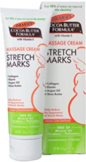 Palmers Cocoa Butter Formula Massage Cream for Stretch Marks and Pregnancy Skin Care, 4.4 oz