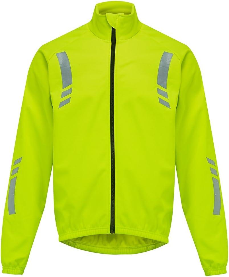 MERIGLARE Fahrrad Weste MTB Windschutz wasserdicht Leichter Gilet Mantel mit reflektieren den Streifen f/ür Motorrad renn reiten
