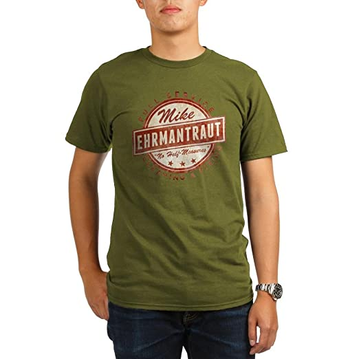 c9059a0f CafePress - Retro Mike Ehrmantraut Cleaner T-Shirt - Organic Men's T-Shirt,