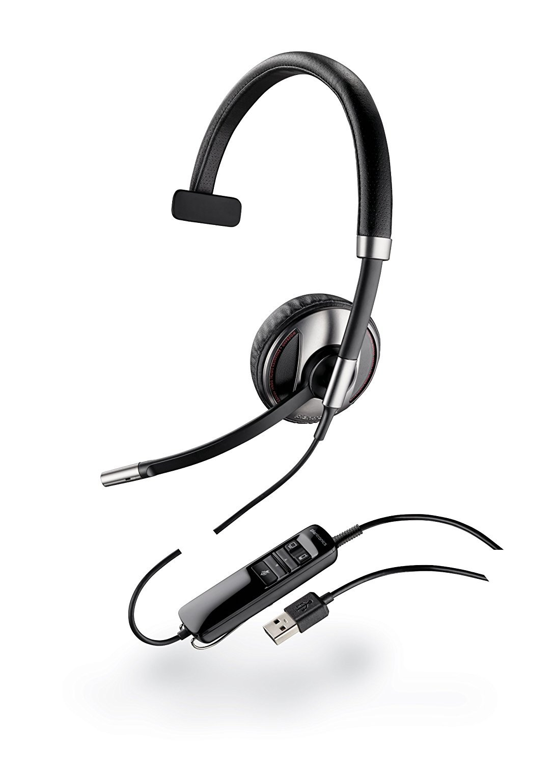 Plantronics Blackwire C710-M Wired Headset - Retail Packaging - Black 87505-01