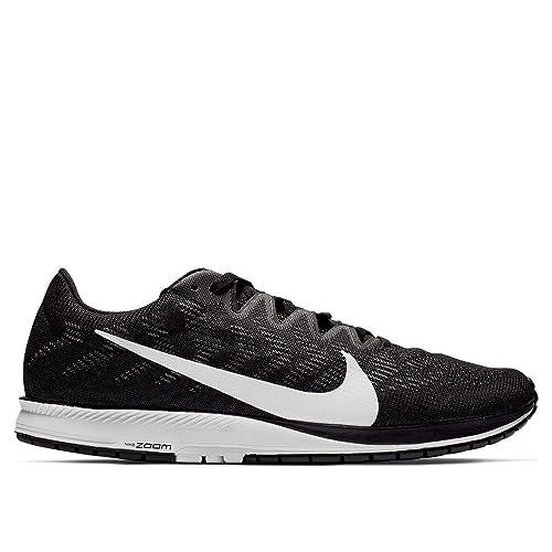 003fcbdf7a0 Amazon.com | Nike Air Zoom Streak 7 Black White Oil Grey | Road Running