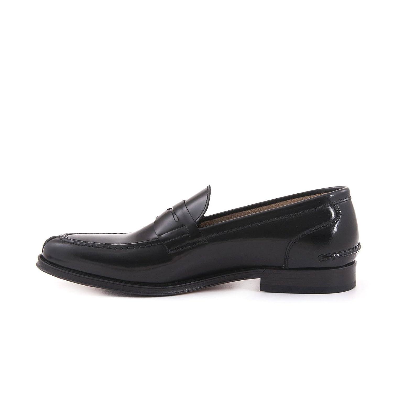 Mocassini Herren Slipper Elegant Echtleder Loafer Leder Glattleder Schwarz:  Amazon.de: Schuhe & Handtaschen