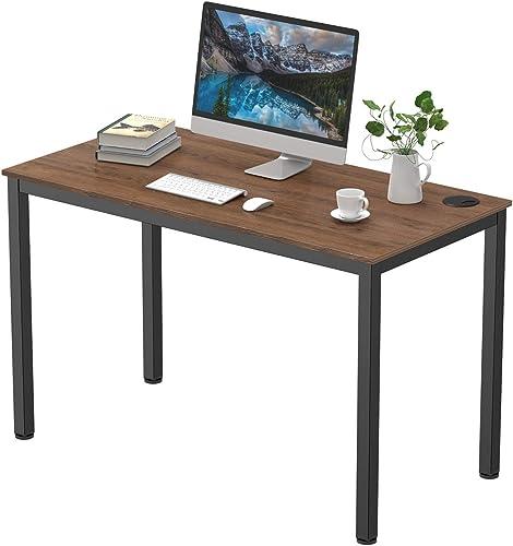 It's_Organized Study Computer Desk 47″ Home Office Writing Desk