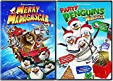 Merry Madagascar/Party with the Penguins (Mad-Tastic Holiday 2-Pack)